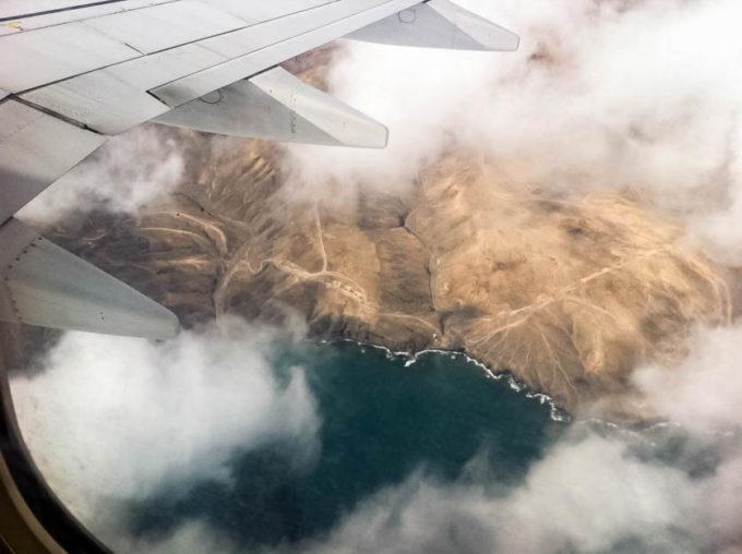 Lot nad Fuertaventura