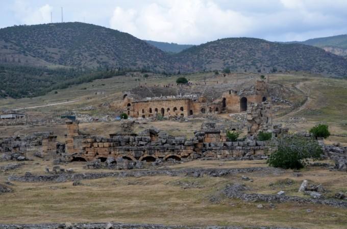 Hierapolis ruiny Turcja