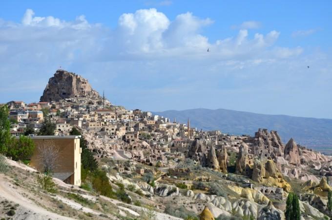 Kapadocja Twierdza Uchisar Turcja
