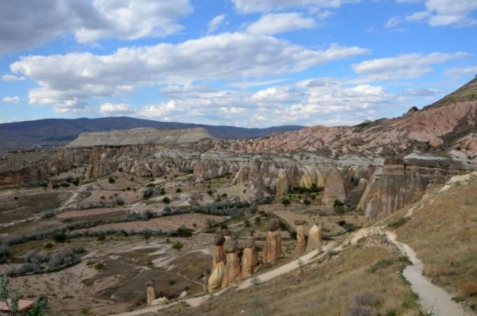 Kapadocja panorama 2 Turcja