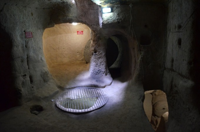 Kapadocja podziemne miasto Turcja