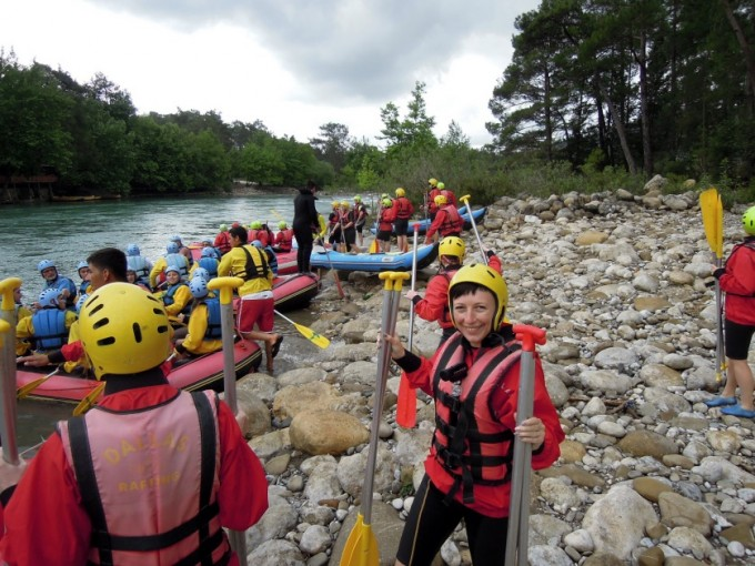 Rafting start Turcja