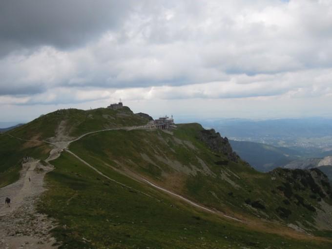 Kasprowy Wierch - obserwatorium meteorologiczne i stacja kolejki Tatry