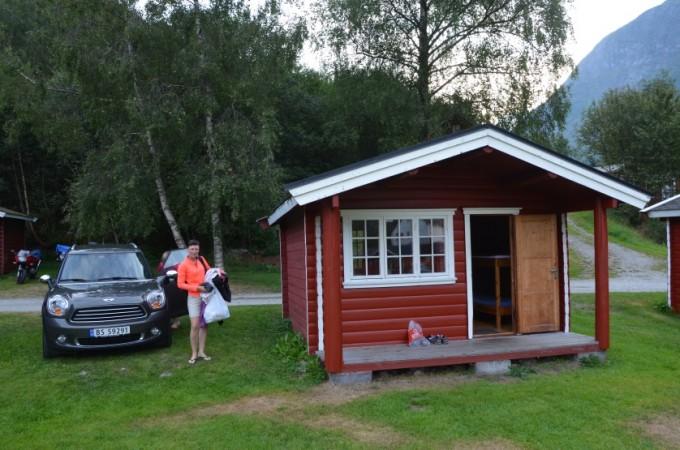 Nasza hytte w Folven Norwegia