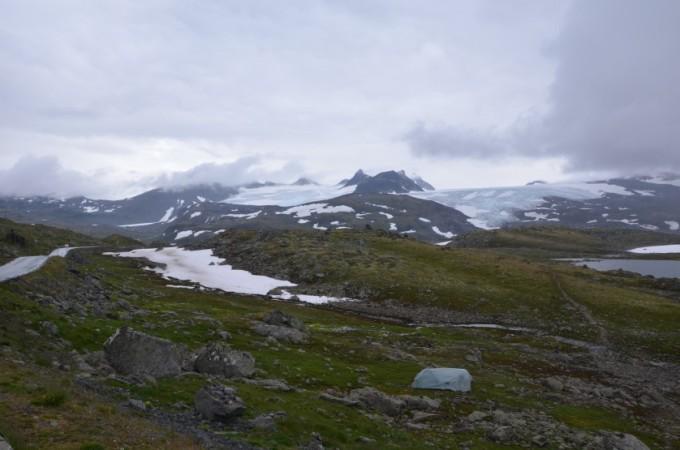 Krajobrazy Jotunheimen Norwegia
