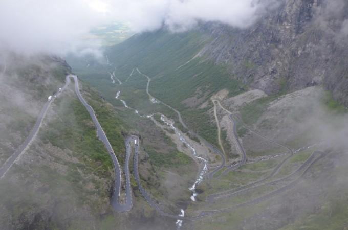 Trollstigen - Drabina Trolli Norwegia