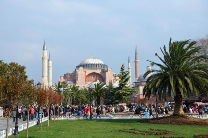 Hagia Sophia Stambuł Turcja