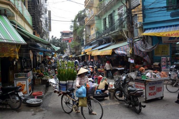 Hanoi Stara Dzielnica Wietnam