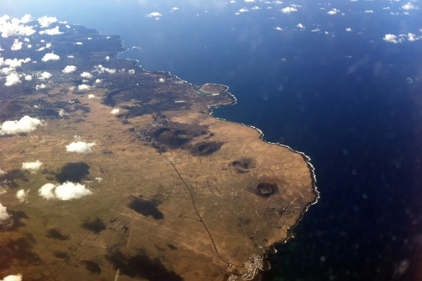 Furtaventura z samolotu