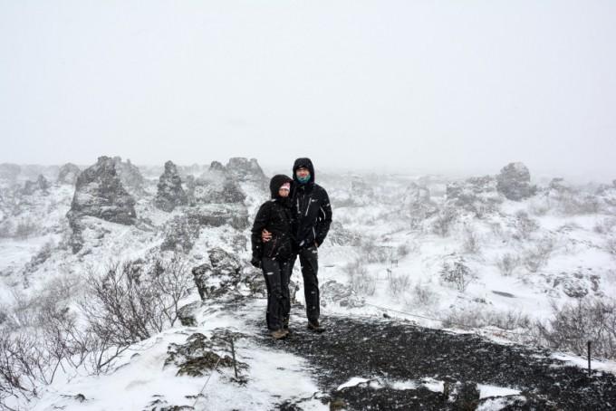 Dimmuborgir Islandia