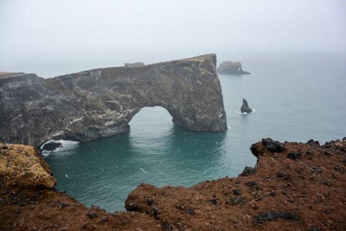 Dyrholaey Islandia