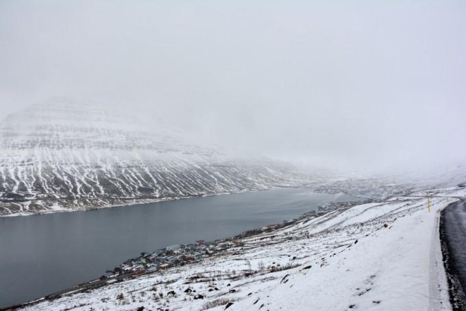 Fiordy wschodnie Islandia