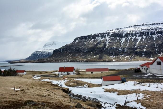 Fiordy wschodnie c.d. Islandia