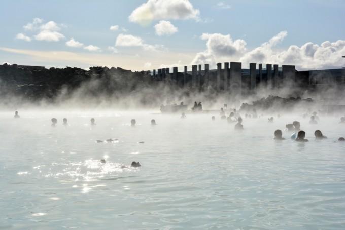 Relax w Blue Lagoon Islandia