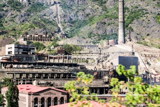 Postindustrialne budynki Armenia