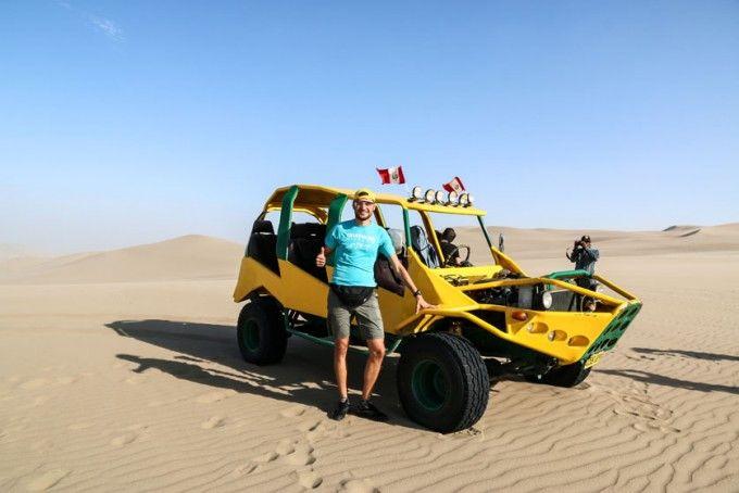 Buggies pustynia Huacachina Peru