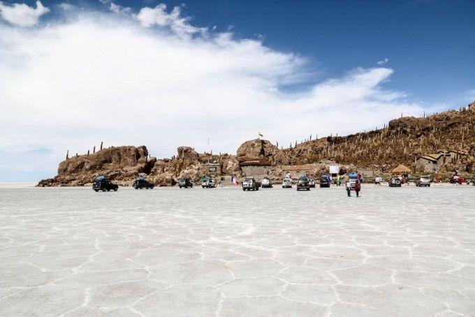 Isla Incahuasi Salar de Uyuni Boliwia