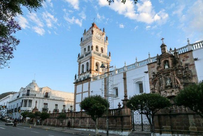 Katedra Sucre Boliwia