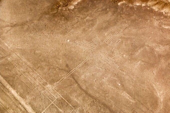 Koliber linie Nazca Peru