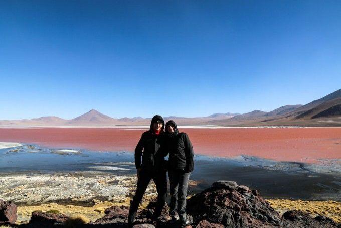 Laguna Colorada 2 wycieczka Salar de Uyuni Boliwia