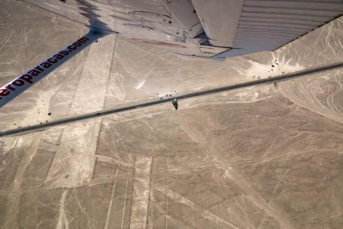 Mirador linie Nazca Peru