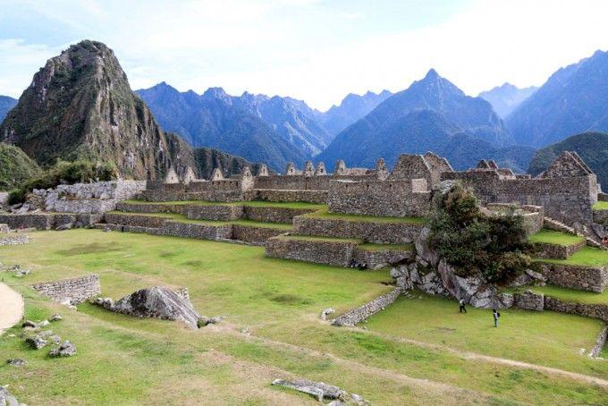 Plac centralny Machu Picchu Peru