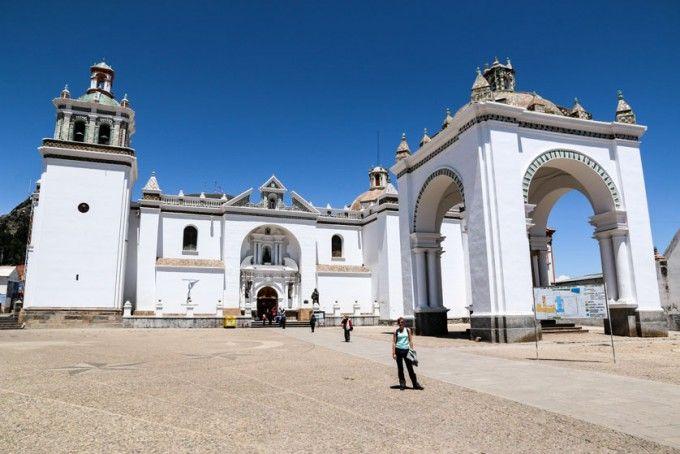 Sanktuarium Maryjne Copacabana w Boliwii
