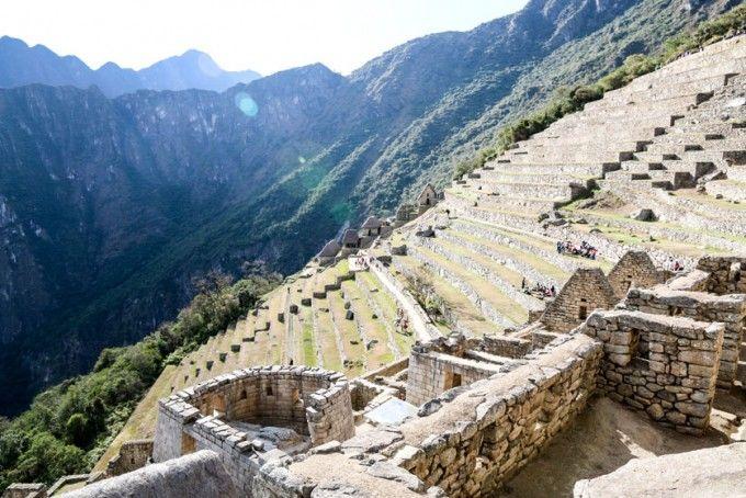 Tarasy uprawne Machu Picchu Peru