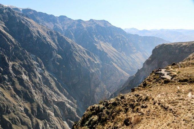 Widok z Cruz del Condor Peru