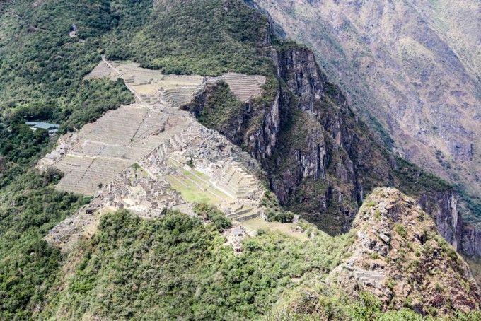 Widok z Wayna Picchu 2 Peru