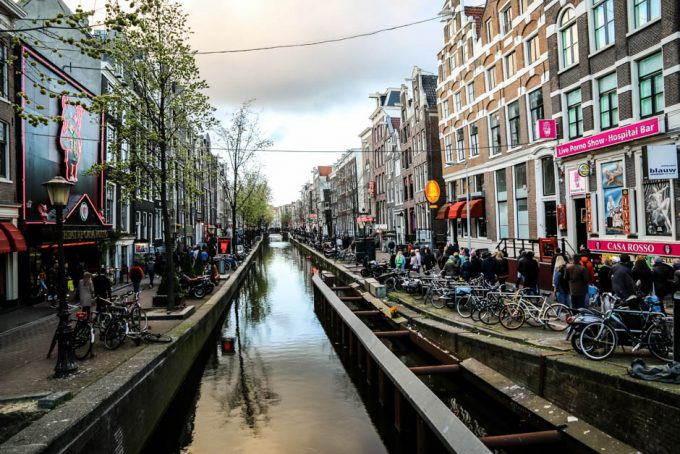 Amsterdam Dzielnica Czerwonych Latarnii