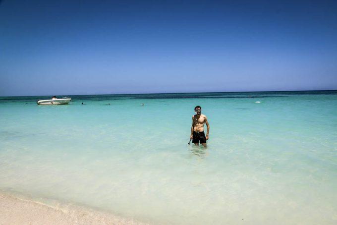 Lazurowa woda Cayo Jutias