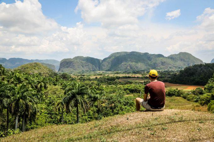 Panorama Doliny Vinales Kuba