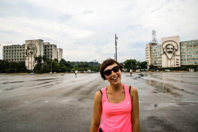 Plac Rewolucji Hawana Kuba