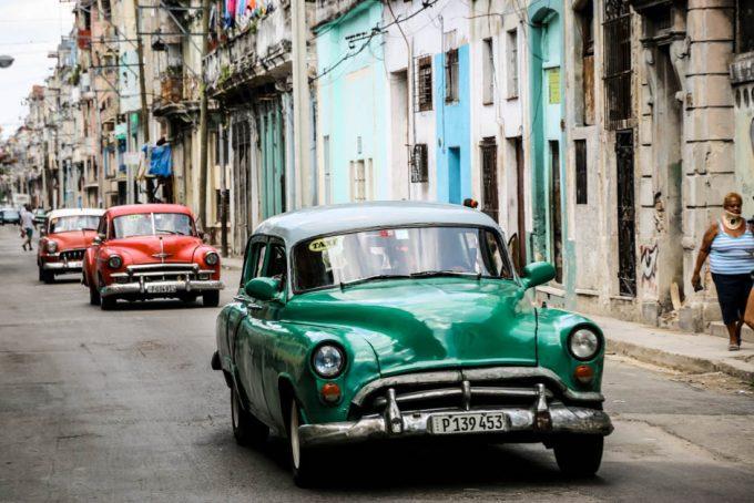 Taxi Hawana Kuba