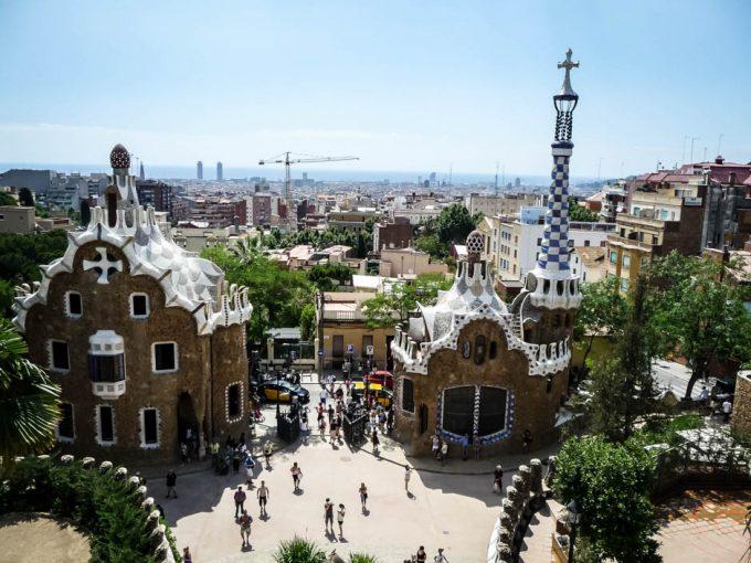 Barcelona Park Guell 2