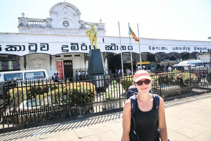 Colombo fort stacja kolejowa