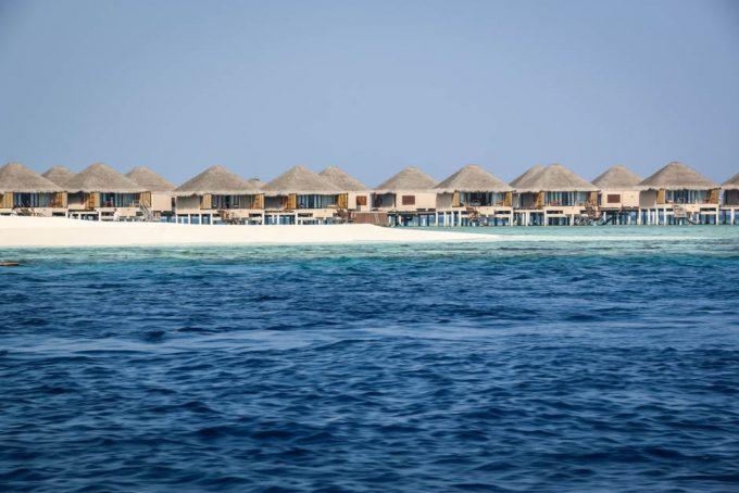 Drewniane bungalowy Malediwy