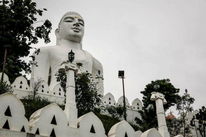 Kandy pomnik Buddy