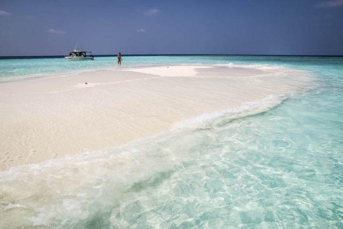 Maafushi Malediwy sand bank