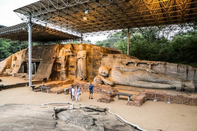 Polonnaruwa Sri Lanka Gal Vihara