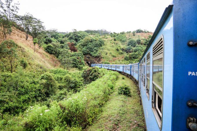 Trasa kolejowa Sri Lanka