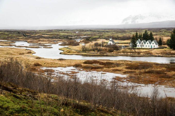 Islandia Park Narodowy Thingvellir