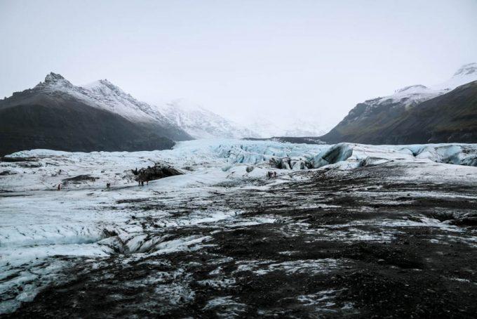 Islandia wycieczka do jaskini lodowej 2