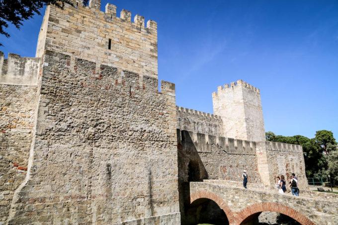 Lizbona Castelo de Sao Jorge 2