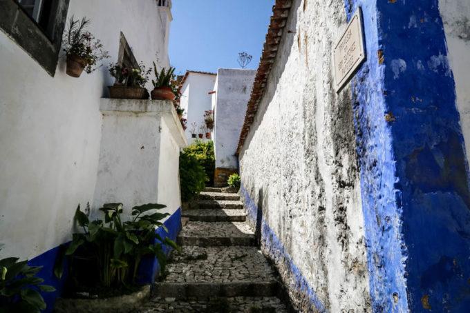 Portugalia Obidos uliczki