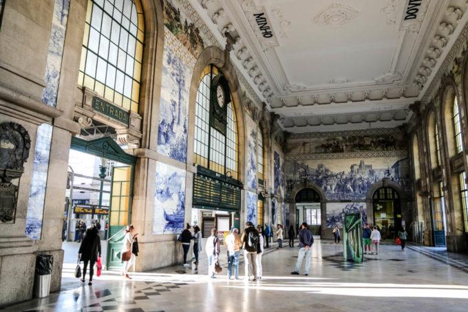 Portugalia Porto Dworzec Sao Bento