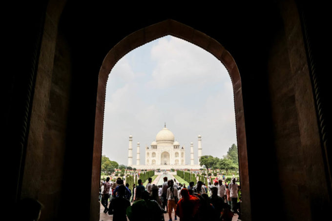 Indie Agra Taj Mahal 2