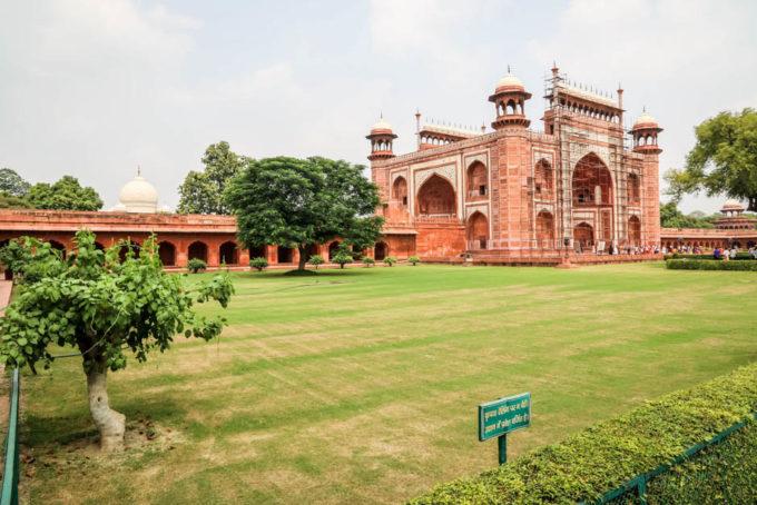 Indie Agra Taj Mahal