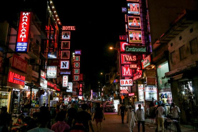 Indie Delhi dzielnica Paharganj